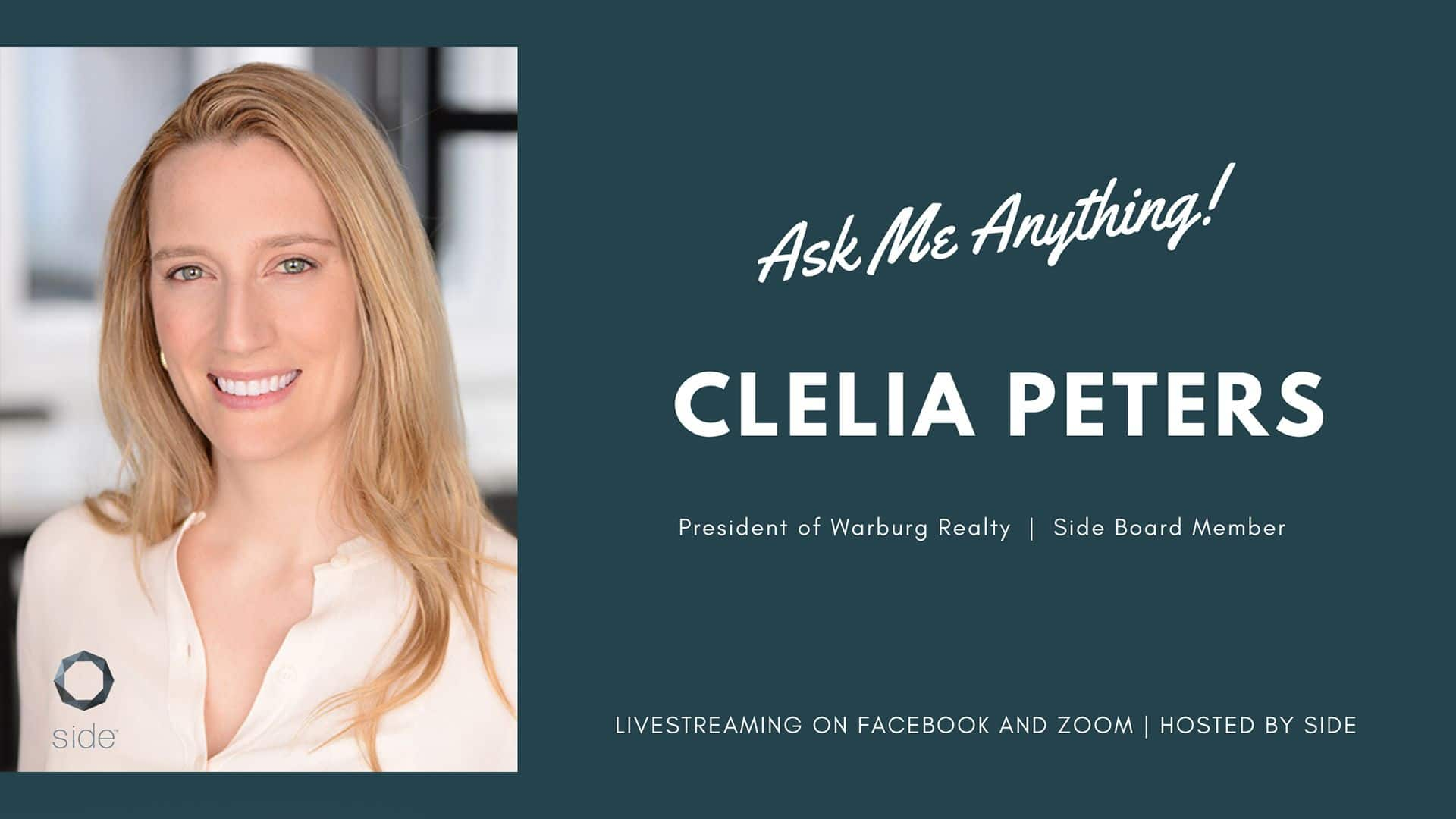 Ask Me Anything with Clelia Warburg Peters